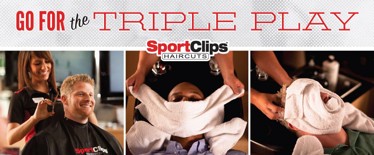 The Sport Clips Haircuts of Kettering Triple Play